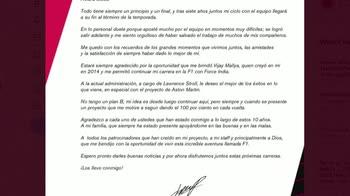 MCH PEREZ TWITTER+COMUNICATO_2333085