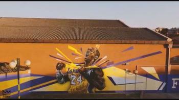 Roma, forever Kobe: murale per Bryant al Pala Tellene