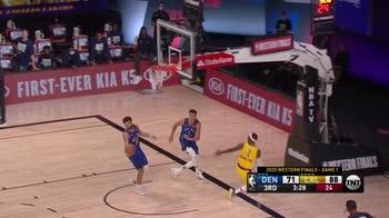 NBA, i 37 punti di Anthony Davis contro Denver (gara-1)