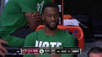 NBA, Kemba Walker sente uno strano odore in panchina