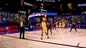 NBA, il film di gara-1 Lakers-Heat