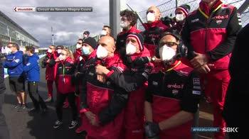 WARN! - Ore 14.54 canale 208 moto superbike inno italia vittoria ducati