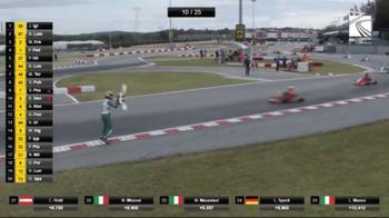 Follia a Mondiale kart: lancia alettone a rivale in pista