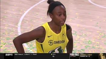 WNBA, Seattle dedica il titolo a Kobe e Gigi Bryant