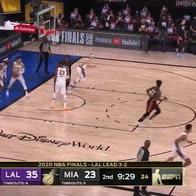 NBA Finals: il primo canestro di Goran Dragic al rientro
