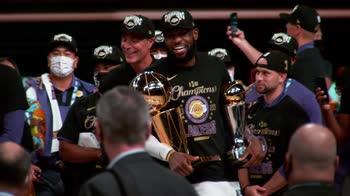 NBA Finals, le emozioni dei Lakers in slow motion