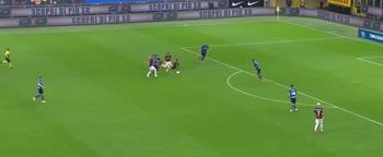 Inter-Milan: il controllo di Ibrahimovic