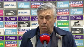Ancelotti disappointed with players performance