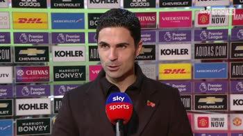 Arteta: We controlled the game