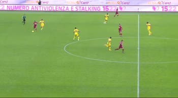 Roma-Parma: l'uscita palla dei giallorossi