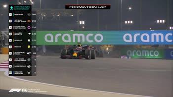 f1 gp bahrain primo giro ore 15.10 canale 207