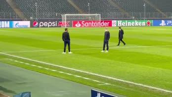 Borussia-Inter, il walkaround dei nerazzurri