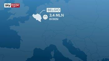 Vaccino Pfizer-Biontech, il viaggio del gelo per raggiungere l'Italia