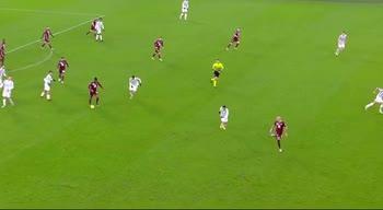 Juve-Torino: il dribbling di meite