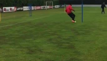monza balotelli allenamento video