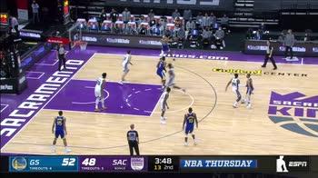 NBA Preseason: Golden State-Sacramento 113-105
