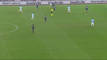 Lazio-Napoli, l'azione di suola di Luis Alberto