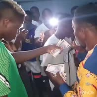 Victor Osimhen video festa nigeria positivo covid