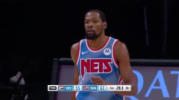 NBA Highlights: Brooklyn-Oklahoma City 116-129