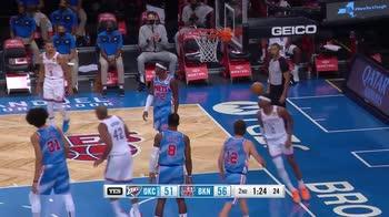NBA, i 31 punti di Shai Gilgeous-Alexander contro Brooklyn