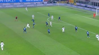 Inter-Juve, il tacco di Brozovic per uscire dalla pressione