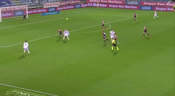 Cagliari-Milan, il tacco volante di Ibrahimovic