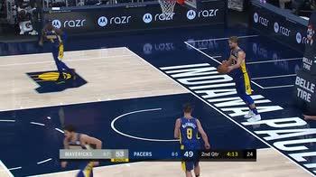 NBA, tripla doppia di Luka Doncic contro Indiana