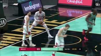 NBA, i 34 punti di Gordon Hayward contro Chicago