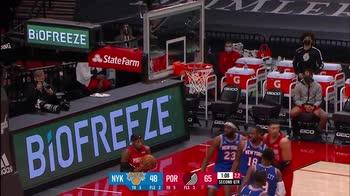 NBA, i 39 punti di Damian Lillard contro New York