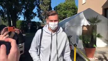 Udinese, Llorente a Villa Stuart per le visite mediche