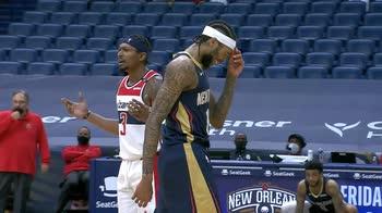 NBA, i 32 punti di Brandon Ingram contro Washington