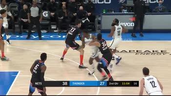 NBA, tripla doppia per James Harden contro OKC