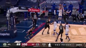 NBA, 5 punti per Nicolò Melli contro Milwaukee