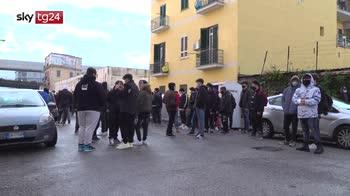 Campania, tornano in classe studenti superiori
