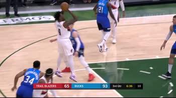 NBA, i 30 punti di Nassir Little contro Milwaukee