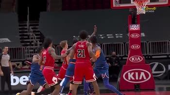 NBA, i 30 punti di Lauri Markkanen contro New York
