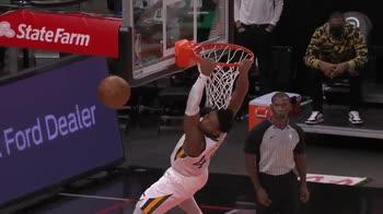 NBA, Donovan Mitchell: clamoroso errore contro gli Hawks