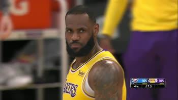 NBA Highlights: L.A. Lakers-Oklahoma City 115-114 OT