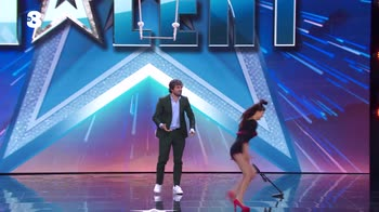 Italia's Got Talent: Jenny, la trapezista improvvisata
