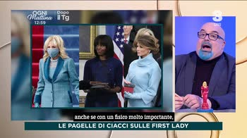 Ogni Mattina, Ciacci giudica le First Lady