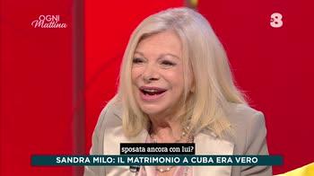 Ogni Mattina, il matrimonio cubano di Sandra Milo