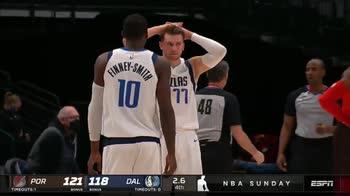 NBA, Doncic sbaglia il tiro del pareggio e si dispera