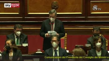 Governo Draghi, il discorso del premier in Senato pt1
