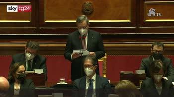 Governo Draghi, il discorso del premier in Senato pt2