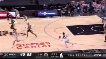 NBA, 29 punti per Kawhi Leonard contro Utah