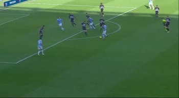 Lazio-Sampdoria, lo scavetto di Luis Alberto