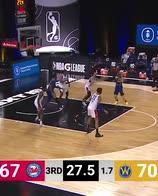 NBA, i 25 punti e 8 assist di Nico Mannion in G-League