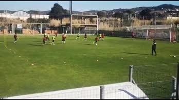 Livorno, Amelia nuovo allenatore: ecco il primo allenamento