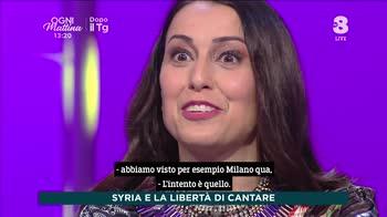 Ogni Mattina, Syria e la libertà di cantare
