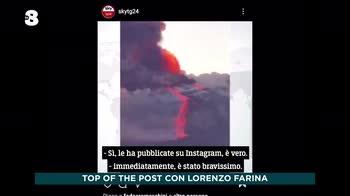 Ogni Mattina, l'eruzione dell'Etna